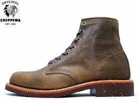 【エントリーでポイント最大44倍】 チペワ チペワ ブーツ CHIPPEWA サービスブーツ クレイジーホース CHIPPEWA 6 PLAIN TOE SERVICE BOOTS 1901M29 CRAZY HORSE メンズ mens boots