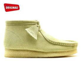 クラークス ワラビーブーツ CLARKS WALLABEE BOOT 26133283 メープルスエード US規格 メンズ ブーツ men's boots