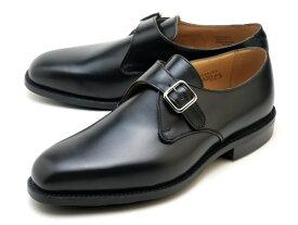 【エントリーでポイント最大44倍】 トリッカーズ メイフェアー モンク メンズ ブローグ シューズ ダイナイトソール Tricker's 6141 メイフェア Mayfair Monk Shoe ブラック Black Box