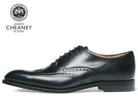 ジョセフ チーニー 靴 JOSEPH CHEANEY BROADII ブロード2 ウイングチップ ブラック BLACK メンズ ビジネス ドレス