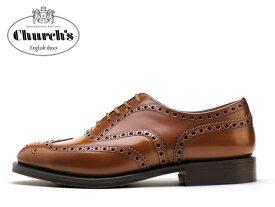 チャーチ バーウッド 靴 Church's Burwood ウィングチップ サンダルウッド SANDALWOODメンズ ビジネス