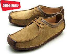 クラークス ナタリー オークウッド CLARKS NATALIE 26118170 オークウッドスエード UK規格 メンズ ブーツ men's boots