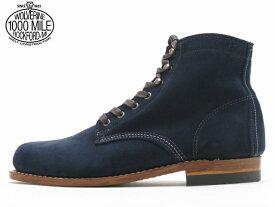 ウルバリン ウルヴァリン 1000マイルブーツ 【WOLVERINE 1000MILE BOOTS W40092 ネイビースエード Made in USAメンズ ブーツ men's boots