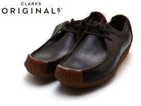 クラークス ナタリー メンズ CLARKS NATALIE 26134201 CHESTNUT LE チェスナットレザー UK規格 メンズ ブーツ men's boots