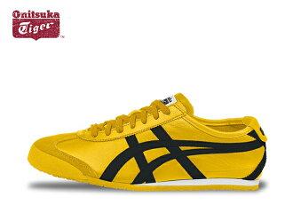 鬼冢虎墨西哥 66 运动鞋男装鬼冢虎墨西哥 66 DL408.0490 黄色/黑色黄色 / 黑色运动鞋