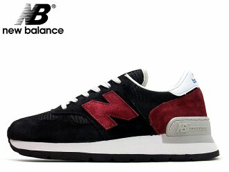 newBalance / new balance m990 cbo Black/Burgundy Black / Burgundy D:width Made in USA