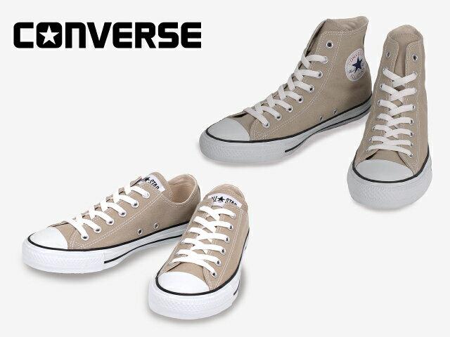 コンバース オールスター CONVERSE CANVAS ALL STAR COLORS HI OX ベージュ カラーズ ハイ オックス【あす楽対応】【店頭受取対応商品】