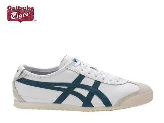 onitsukataigamekishiko 66运动鞋人Onitsuka Tiger MEXICO 66 0145 WHITE/INK BLUE白/蓝色sneaker