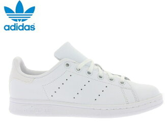 阿迪达斯Stan Smith女士白adidas STAN SMITH J S76330白色佳丽运动鞋