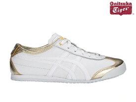 オニツカタイガー メキシコ66 スニーカー メンズ Onitsuka Tiger MEXICO 66 200 RICH GOLD/WHITE リッチゴールド/ホワイト sneaker【あす楽対応】【店頭受取対応商品】