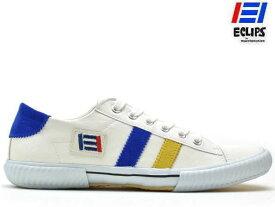 エクリプス ECLIPS マカロニアン maccheronian メンズ レディース スニーカー 42013 ホワイト/イエロー/ブルー CLASSICS