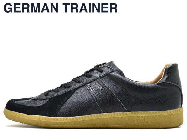 ジャーマントレーナー GERMAN TRAINER 42000 ブラック メンズ レディース スニーカー