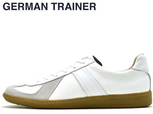 ジャーマントレーナー GERMAN TRAINER 42000 ホワイト メンズ レディース スニーカー