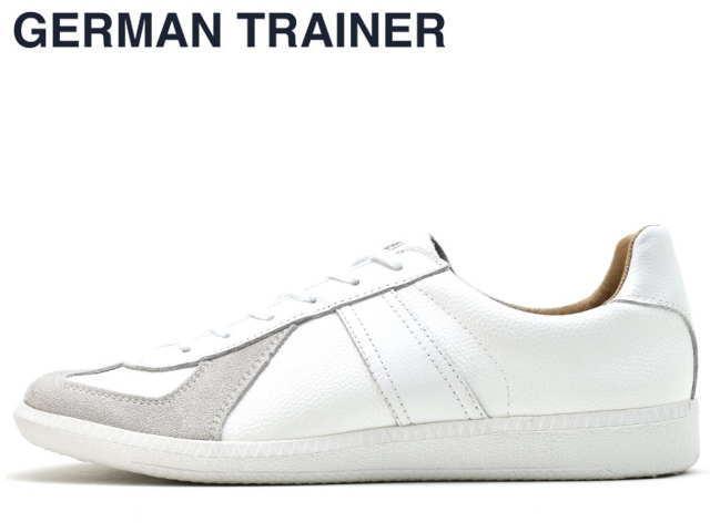 ジャーマントレーナー GERMAN TRAINER 42000 ホワイト/ホワイト メンズ レディース スニーカー