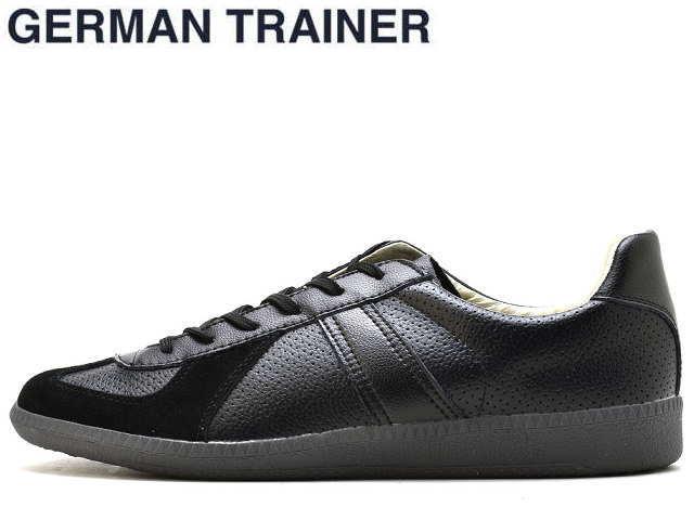 ジャーマントレーナー GERMAN TRAINER 42005 ブラックグレー メンズ レディース スニーカー