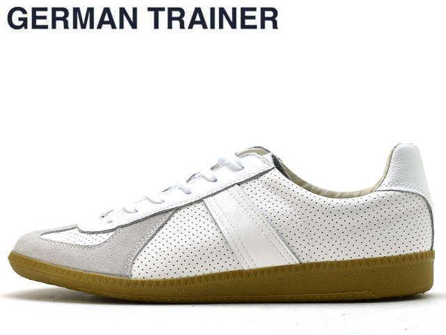ジャーマントレーナー GERMAN TRAINER 42005 ホワイト メンズ スニーカー