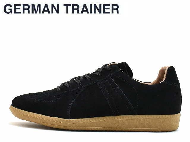 ジャーマントレーナー GERMAN TRAINER 42006 ブラックスエード メンズ レディース スニーカー