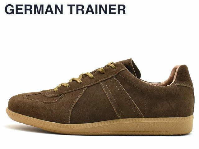 ジャーマントレーナー GERMAN TRAINER 42006 ブラウンスエード メンズ レディース スニーカー