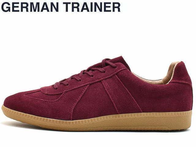 ジャーマントレーナー GERMAN TRAINER 42006 ワインスエード メンズ レディース スニーカー