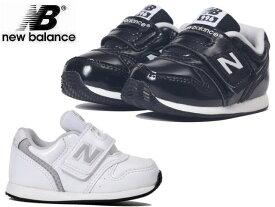 ニューバランス キッズ 996 スニーカー new balance IV996 ホワイト ブラック エナメル GWH GBK キッズ&ベビー 子供靴 kids baby【店頭受取対応商品】【メーカー取寄せ含む】
