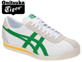 オニツカタイガー タイガー コルセア スニーカー メンズ Onitsuka Tiger TIGER CORSAIR 101 WHITE/GREEN