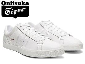 オニツカタイガー ローンシップ スニーカー レディース メンズ Onitsuka Tiger LAWNSHIP 3.0 100 ホワイト×ホワイト