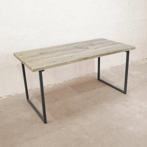 ダイニングテーブル 木製 【サイズオーダーで造る R(アール)シリーズ ダイニングテーブル R129】 テーブル 机 デスク アイアン 家具 ハンドメイド カフェ風 天然木 ダイニングテーブル