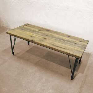 ローテーブル 120 おしゃれ 【R(アール)シリーズ ローテーブル R131】 サイズオーダーローテーブル カフェ風 ハンドメイド 木製 天然木 杉 レトロ ヴィンテージ テーブル ローテーブル