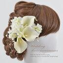 ヘッドドレス 髪留め 髪飾り カラーリリー 10点セット 結婚式 ヘアアクセサリー 前撮り お色直し 成人式 卒業式 hd-fd…