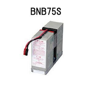 【在庫あり】オムロン BNB75S 無停電電源装置(UPS)用交換用バッテリ【後払い決済不可商品】