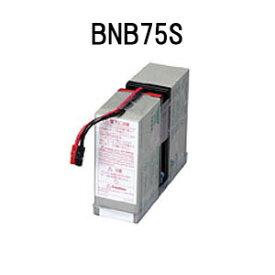 【あす楽対応_関東】オムロン ソーシアルソリューションズ BNB75S 無停電電源装置(UPS)用交換用バッテリ【後払い決済不可商品】