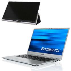 エプソンモバイルノートPCEndeavorNA710EキャンペーンモデルEHB1175715.6型モバイルディスプレイ付モデル