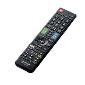 エレコム かんたんTV用リモコン(パナソニック用) ERC-TV01BK-PA【代引・後払い決済不可商品】