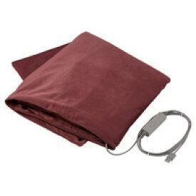 エレコム ECLEAR warm USBブランケット(モーヴブラウン) HCW-B01BR【代引・後払い決済不可商品】