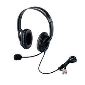 エレコム ヘッドセット(両耳大型オーバーヘッドタイプ) HS-HP28BK【代引・後払い決済不可商品】