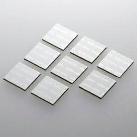 サンワサプライ ノートパソコン冷却パッド(8枚入り・シルバー) TK-CLNP8SV【代引・後払い決済不可商品】