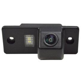RC-VWE-LED01 Toureg トゥアレグ(7L 2003-2010)VW フォルクスワーゲン車種別設計CCDバックカメラキット 純正ナンバー灯交換タイプ(カスタム バックカメラ パーツ 車 アクセサリー VW バック カメラ モニター カー用品 リアカメラ)