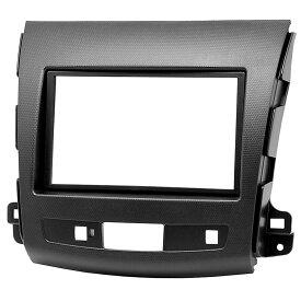 CA-CI08-004A AVインストールキットPeugeot プジョー 4007(2007-2012)ナビ取付フレーム(カスタム パーツ 車 取付 キット カーオーディオ フレーム ナビ取付キット インストールキット オーディオ取付 オーディオ 取り付けキット)