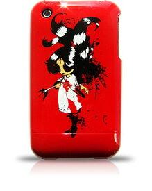 【DM便発送可】【iPhone3G iPhone3GS ケース アイフォンケース】iPhone3G iPhone3GSケース 米国RebelScholarブランド正規品 レディーシリーズCupids Last Arrow205
