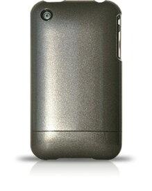 【DM便発送可】【iPhone3G iPhone3GS ケース メタリック アイフォンケース】iPhone3G iPhone3GSケース 米国RebelScholarブランド正規品 メタリックシリーズGunmetal Grey227