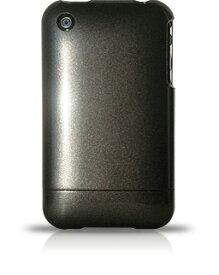 【DM便発送可】【iPhone3G iPhone3GS ケース メタリック アイフォンケース】iPhone3G iPhone3GSケース 米国RebelScholarブランド正規品 メタリックシリーズBlack Stealth223