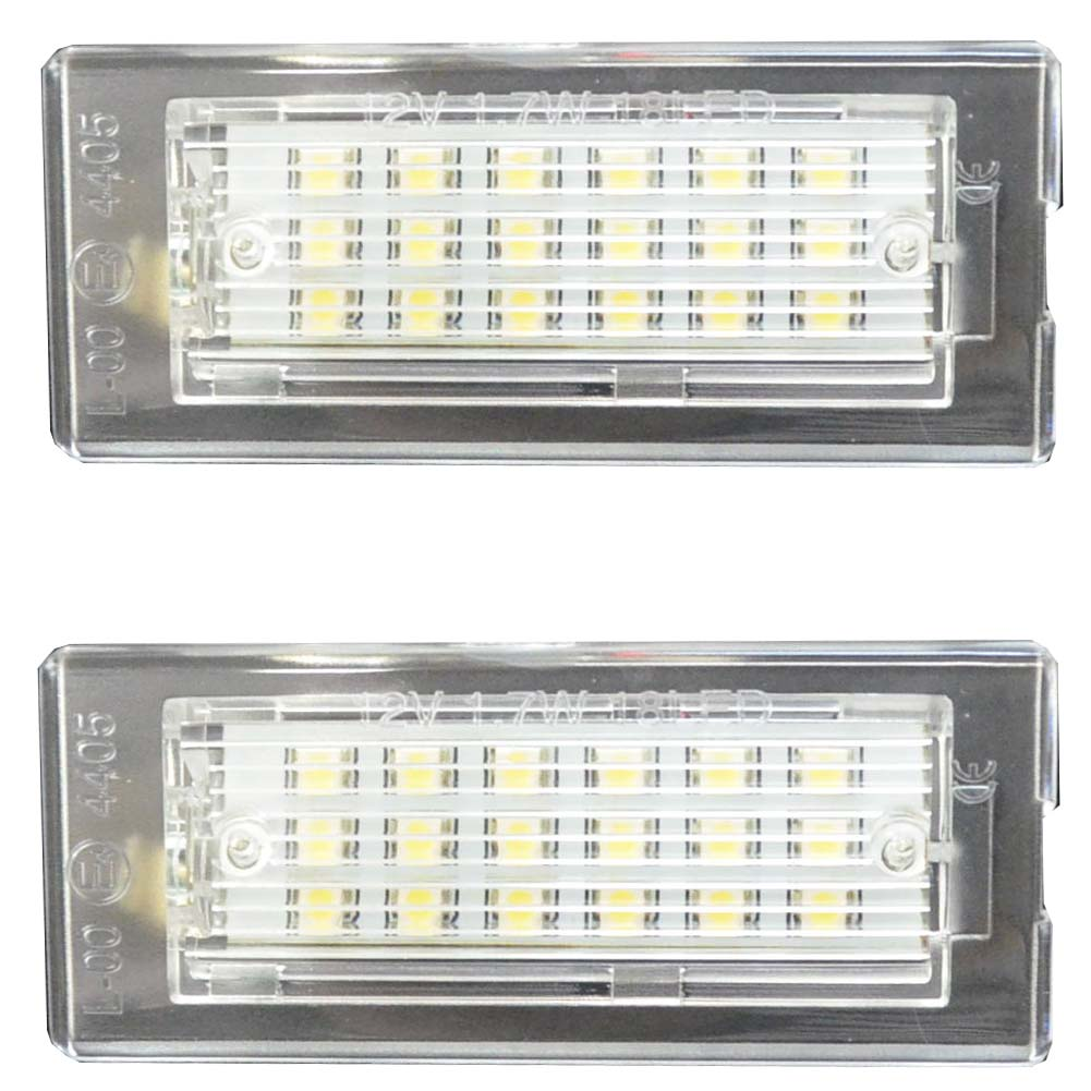 LL-BM-I02 XシリーズE83 X3(前期後期 2003-2010) 5603748W LEDナンバー灯 LEDライセンスランプ BMW レーシングダッシュ製 (LED ナンバー灯 アクセサリー パーツ カスタムパーツ )