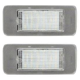 LL-GM-D01 LEDナンバー灯 Cadillac キャデラック ATS(2013-2014) LEDライセンスランプ GM シボレー (LED ナンバー灯 カー アクセサリー ドレスアップ ナンバーライト ナンバープレートランプ)