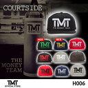 【TMT-H006 COURTSIDE 刺繍ロゴ キャップ ザ・マネーチーム フロイド・メイウェザー ボクシング 男性用 女性用 メンズ レディース THE …