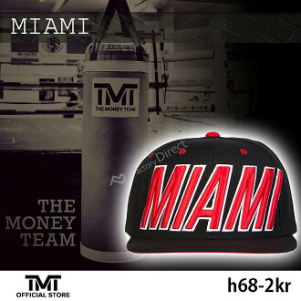 [TMT-H68-2KR这个钱组盖子帽子MIAMI红标识&黑基础红弗罗伊德·梅夷天气拳击男性女性人分歧D黑色红THE MONEY TEAM WBC WBA(盖子)]