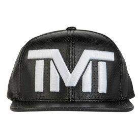 tmt-h69-2kw THE MONEY TEAM ザ・マネーチーム DROPHEAD (ブラックベース&白ロゴ) 刺繍ロゴ 合成皮革 キャップ ザ・マネーチーム 帽子 フロイド・メイウェザー ボクシング 男性 女性 メンズ レディース ダンス 黒 白 tmt ロゴキャップ)