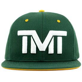 tmt-h93-3nwy THE MONEY TEAM ザ・マネーチーム FIELD PASS TITLE TOWN 緑ベース&白ロゴ&黄ブリム ( フロイド・メイウェザー TMT キャップ ボクシング グッズ 帽子 WBC メンズ スナップバック WBA boxing スナップバックキャップ 格闘技 )