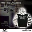 【TMT-MO35-2KW】THE MONEY TEAM ザ・マネーチーム パーカーTMT DECLARATION 白ベース×スター フロイド・メイウェザー ボ...