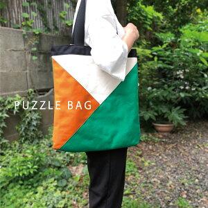 トートバッグ レディース コーデュラ BLEND PUZZLE BAG ブレンド パズルバッグ Made in Japan
