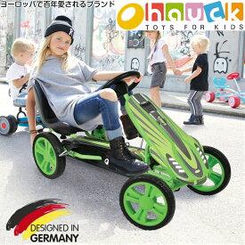 【即納】ドイツの名門ハウク・スピードスター<Hauck Speedster Pedal Go Kart>ゴーカート ペダルカー 乗車カー 乗用玩具 乗用おもちゃ 乗り物 玩具 のりもの 海外 足こぎ 子供 用 女の子 男の子 外遊び 屋外 おしゃれ 誕生日プレゼント 贈り物